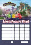 Personalised Chugginton Reward Chart (adding photo option available)